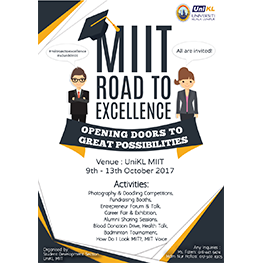 MIIT Road to Excellence Programme