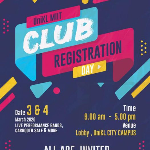UniKL MIIT Club Registration Day