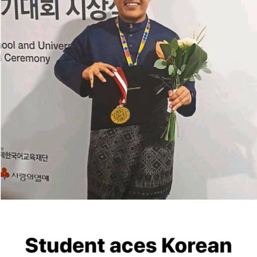 First Prize (Advanced Level Category) 2019 Korean Speech Contest of ASEAN
