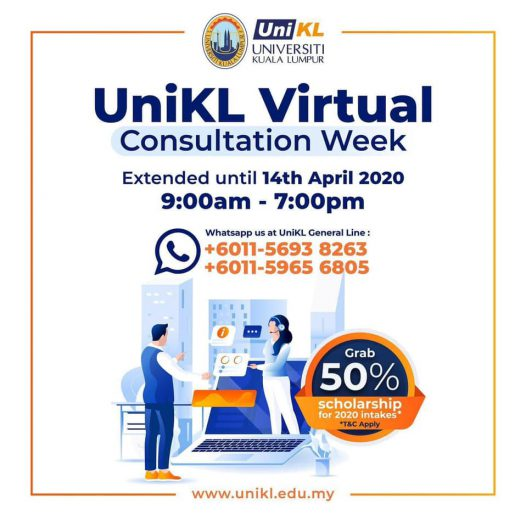 UniKL Consultation Week in Virtual!