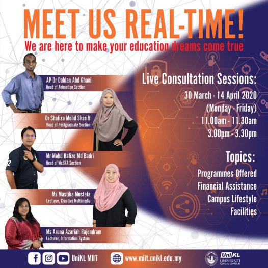 MEET US REAL-TIME!