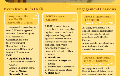 MIIT Research Newsletter January 2020