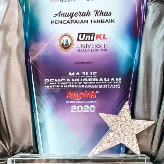 MyRA (Malaysia Research Assessment) 2020 Ceremony