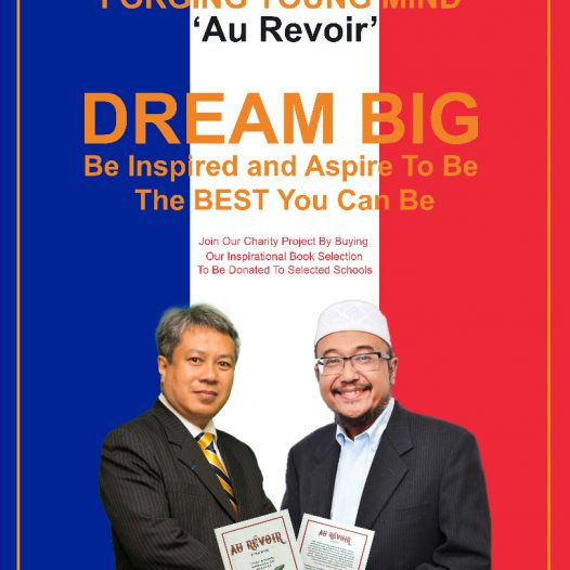 """""""Au Revoir – Be the best you can be"""" Book Donation Project."""