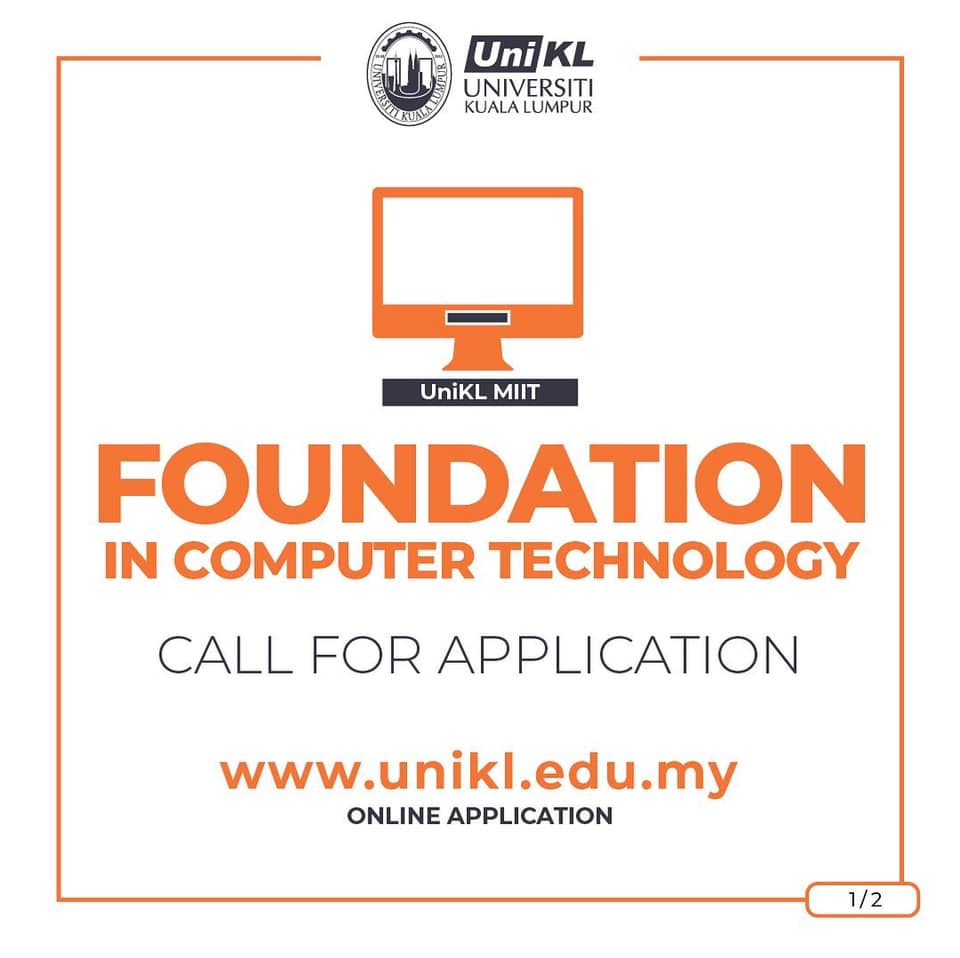 Join UniKL Foundation in Computer Technology programme